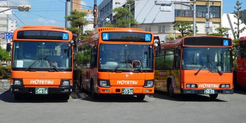 伊予 鉄 バス 路線 図